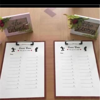 ディズニー(Disney)のゲストブック  結婚式 芳名帳(ウェルカムボード)