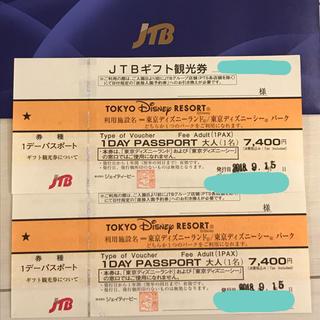 ディズニー(Disney)のディズニー リゾート ペアチケット Disney(遊園地/テーマパーク)