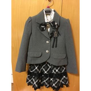 ハッシュアッシュ(HusHush)のハッシュアッシュ  スーツ  入学式  ☆110☆(ドレス/フォーマル)