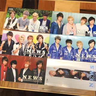 ニュース(NEWS)のNEWS FC会報 005~010(アイドルグッズ)