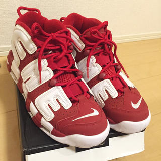 シュプリーム(Supreme)のSupreme Nike Air More Uptempo 26cm(スニーカー)
