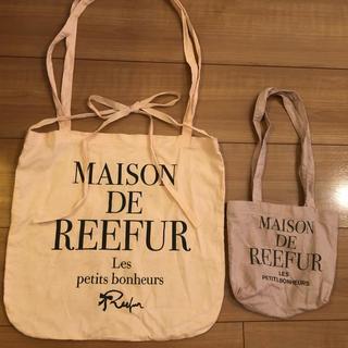 Maison de Reefur - メゾンドリーファー  ショッパーセット