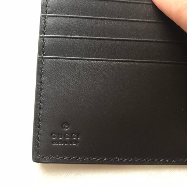 san francisco 2de2f 36477 【新品未使用】GUCCI 二つ折り財布