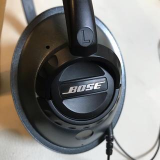 ボーズ(BOSE)のBose(ボーズ)Triport ヘッドフォン ダークグレー(ヘッドフォン/イヤフォン)