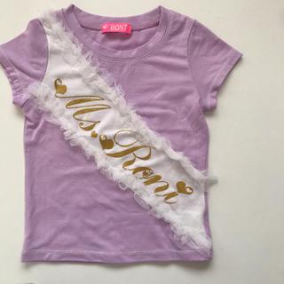ロニィ(RONI)のRONI ロニ  半袖 Tシャツ  サイズXS(90〜95)(Tシャツ/カットソー)