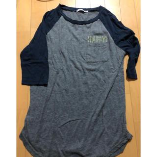 ピーチジョン(PEACH JOHN)のレディース ピーチジョン ロングティシャツ(Tシャツ(長袖/七分))