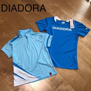 ディアドラ(DIADORA)の★ DIADORA ディアドラ レディース L 半袖 トップス 2枚 セット(その他)