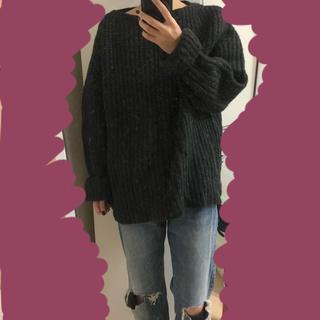 サンタモニカ(Santa Monica)のzig usedclothing ニット オーバーサイズ セーター(ニット/セーター)