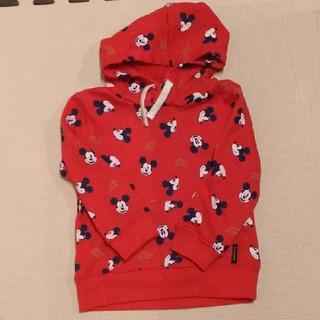 ディズニー(Disney)のミッキー パーカー 子供服(ジャケット/上着)