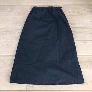 オゾック(OZOC)のOZOC オゾック ブラック スカート(ロングスカート)