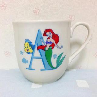ディズニー(Disney)のアリエル マグカップ(グラス/カップ)