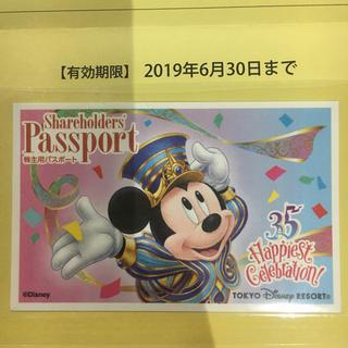 ディズニー(Disney)のディズニー チケット 株主用(遊園地/テーマパーク)