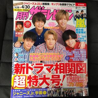 月刊ザテレビジョン 5月号(その他)