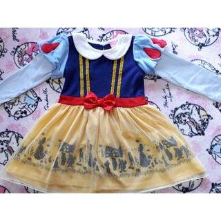 ディズニー(Disney)の白雪姫ワンピース110㎝(ワンピース)