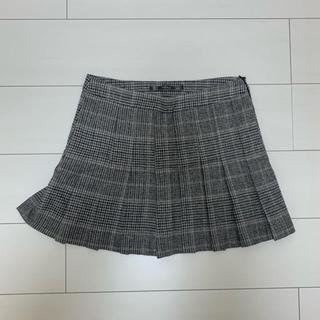 ザラ(ZARA)のZARA チェック型ミニスカート(ミニスカート)