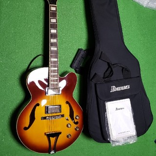 アイバニーズ(Ibanez)のIbanez AF76-VB フルアコ〔値引き中〕(エレキギター)