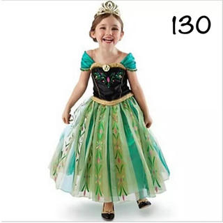 ディズニー(Disney)のアナ ドレス プリンセスドレス アナ雪 130(ドレス/フォーマル)