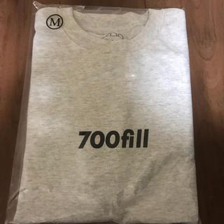 ワンエルディーケーセレクト(1LDK SELECT)の【新品未使用】700fill long sleeve T gy M(Tシャツ/カットソー(七分/長袖))