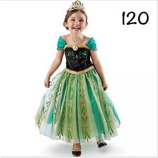 ディズニー(Disney)のアナ ドレス プリンセスドレス アナ雪 120(ドレス/フォーマル)