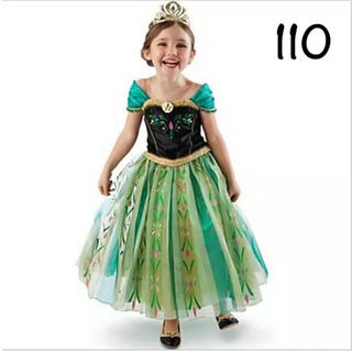 ディズニー(Disney)のアナ ドレス プリンセスドレス アナ雪 110(ドレス/フォーマル)
