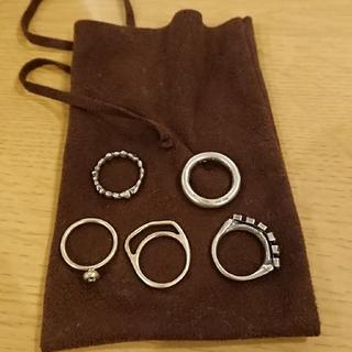 イオッセリアーニ(IOSSELLIANI)のイオッセリアーニ 5連リング(リング(指輪))