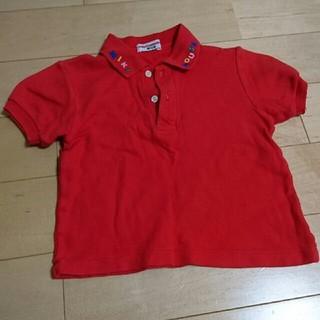 ミキハウス ポロシャツ  100センチ(Tシャツ/カットソー)