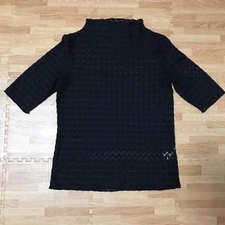 ジーユー(GU)のGU レースカットソー(カットソー(半袖/袖なし))