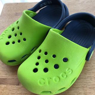 クロックス(crocs)のクロックス キッズ サンダル C8 15.5センチ(サンダル)
