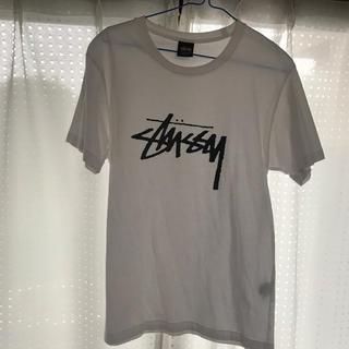 ステューシー(STUSSY)のstussy  白Tシャツ(Tシャツ(半袖/袖なし))