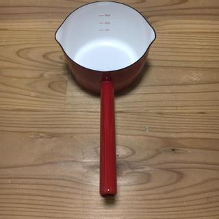 フジホーロー(富士ホーロー)の富士琺瑯 11cmミルクパン(鍋/フライパン)