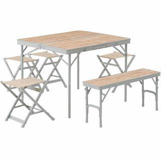 ロゴス(LOGOS)のLOGOS Life ベンチテーブルセット(テーブル/チェア)
