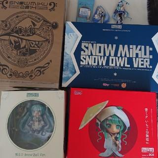 グッドスマイルカンパニー(GOOD SMILE COMPANY)の雪ミクねんどろいど&おまけ(アニメ/ゲーム)