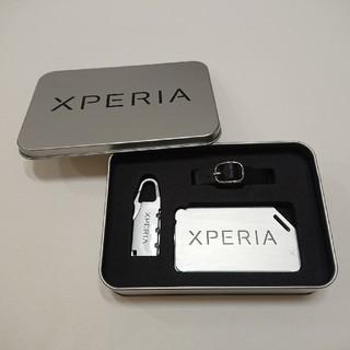 エクスペリア(Xperia)のSONY ソニー XPERIA エクスペリア カードケース アクセサリーケース(その他)