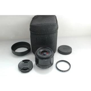 シグマ(SIGMA)のマイクロフォーサーズ用 Art 19mm F2.8 DN #1122(レンズ(単焦点))
