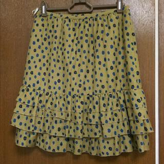 クローラ(CROLLA)の美品❗CROLLA(クローラ)のスカート(ひざ丈スカート)
