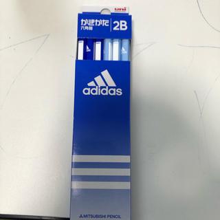 アディダス(adidas)の【新品未使用】三菱鉛筆 アディダス かきかた鉛筆 2B 12本(鉛筆)