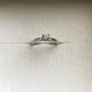 プラチナ ダイヤモンドリング pt900  0.383ct(リング(指輪))