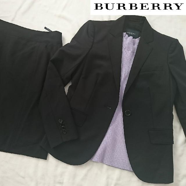 BURBERRY(バーバリー)のBURBERRY バーバリー 春夏スカートスーツ セットアップ レディースのフォーマル/ドレス(スーツ)の商品写真