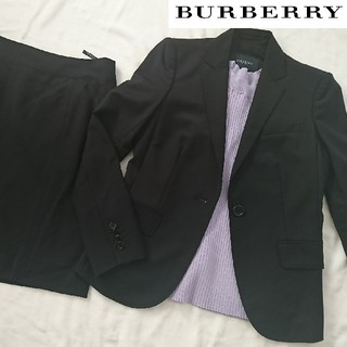 バーバリー(BURBERRY)のBURBERRY バーバリー 春夏スカートスーツ セットアップ(スーツ)
