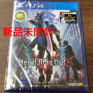 PlayStation4 - 【新品未開封】PS4 デビルメイクライ5