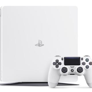 ソニー(SONY)の【単価25500円】PlayStation4 ホワイト ブラック 3台セット(家庭用ゲーム本体)