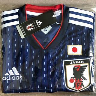 アディダス(adidas)の【新品】サッカー日本代表ユニフォームL(定価8,990円+税)(ウェア)