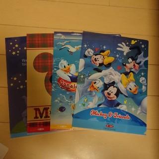ディズニー(Disney)のクリアファイル ディズニー四枚(クリアファイル)