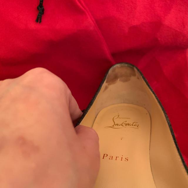 Christian Louboutin(クリスチャンルブタン)のクリスチャンルブタン フラットシューズ 35 1/2 レディースの靴/シューズ(ローファー/革靴)の商品写真