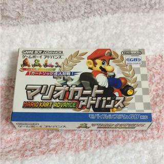 ゲームボーイアドバンス(ゲームボーイアドバンス)の♡GBA♡マリオカートアドバンス 箱付き(携帯用ゲームソフト)