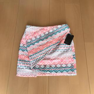 ザラ(ZARA)の❀︎未使用❀︎ZARA BASIC スカート【S】(ミニスカート)