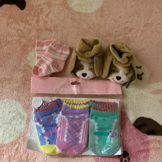 ディズニー(Disney)の女の子  ベビー  靴下(靴下/タイツ)