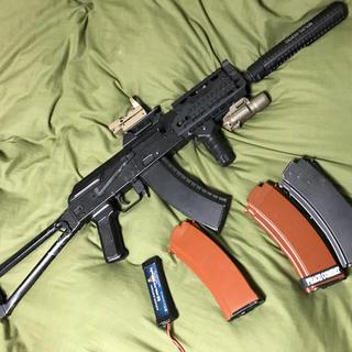 マルイ(マルイ)の次世代AKS74U 実物パーツ多数 大幅値下げ 今週中まで(電動ガン)
