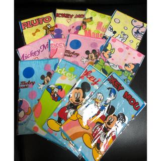 ディズニー(Disney)のディズニー ミニタオル 12枚セット(ハンカチ)