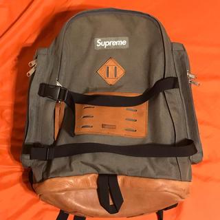 シュプリーム(Supreme)の【 Supreme 】Backpack 2008AW 25th Leather(バッグパック/リュック)